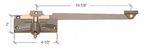 CRL 10-1/8'' Left Hand Stone Casement Operator for Andersen Windows