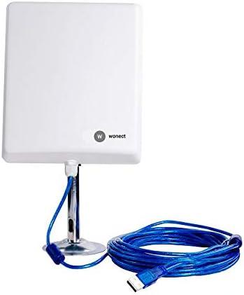 Antena Wifi largo alcance 36dbi 10 metros cable 2w