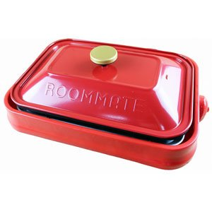 ROOMMATE PARTY PLATE EB-RM8600H-RD (Red)