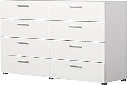Stylish 8 Drawer Chest Dresser S Y And Long Lasting Engineered Wood Construction Plastic Handles