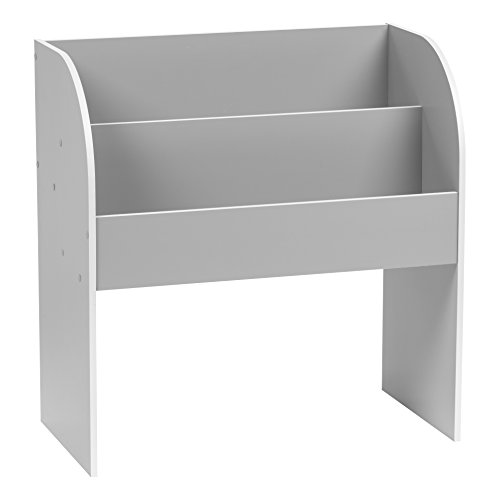 IRIS USA, Inc. 595901 Kbs-2 Kid's Wooden Bookshelf, Gray (Room Shelving Kids)