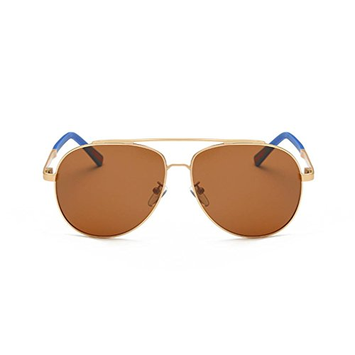 Coolsir fish de Conducir de Protección Aleación de Marco Definición 3 anteojos Alta Gafas Gafas polarizadas UV400 de anteojos Sol Hombres TAC 55F1wqr