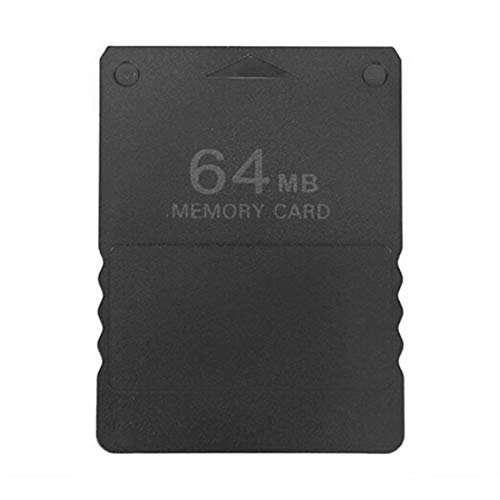 Chelsea High Speed Memory Card Save Game Data Stick Module Card for PS2 Black Black -