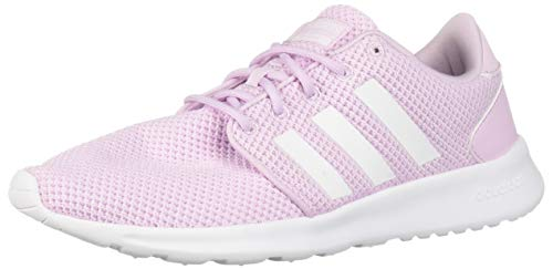 adidas Women's Cloudfoam QT Racer, White/aero Pink, 5.5 M US by adidas (Image #1)