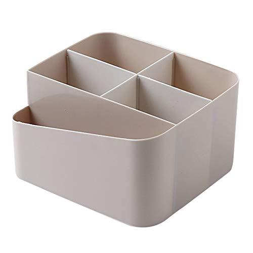 Storage Box Cosmetic Storage Box Dressing Table Skin Care Racks Student Dormitory Desktop Drawer Sorting Box Cosmetic Box Item Storage Box (Color : Beige, Size : 17159.5cm)