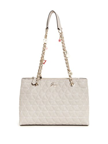 GUESS Fleur Quilted Girlfriend Satchel
