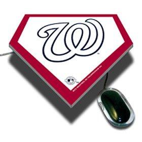 (Rico Washington Nationals Homeplate Mousepad - WASHINGTON NATIONALS One)