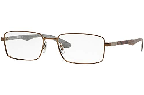 Ray-Ban Eyeglasses RX8414 2531 Light Brown Gloss 53 18 145 ()
