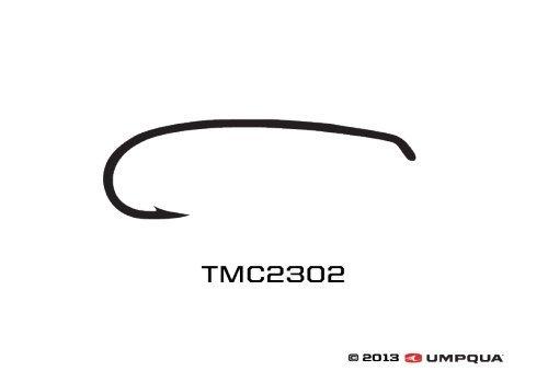 Umpqua Tiemco Fly Tying Hooks TMC 2302 (25 Pk) 14 (N) ()