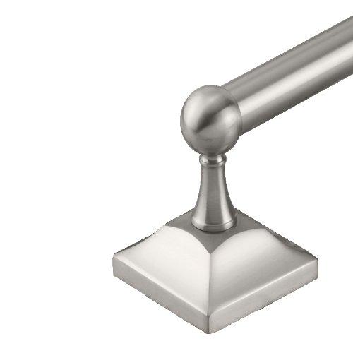 Satin Nickel Gatco 4280 Meridian 3//4-Inch Diameter 24-Inch Length Towel Bar