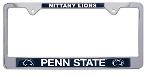 (All Metal NCAA Mascot License Plate Frame (Penn State))