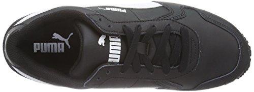 Full Puma Nero L Schwarz 01 St Sneakers Runner white Unisex Black g77EZq