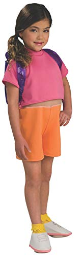 Dora Toddler Costume (Dora the Explorer Child's Dora Costume with Backpack,)