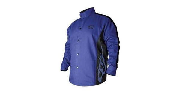 Revco bxrb9 C-xl resistente al fuego algodón soldadura chaqueta, 9 onzas. Cuerpo, 30