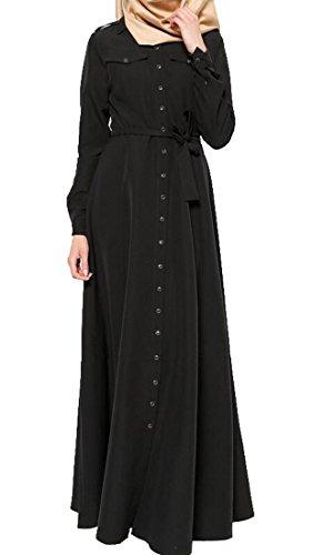 long black muslim dress - 5