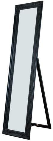 Milton Greens Stars Cecilia Wooden Standing Mirror with Decorative Design, Copper