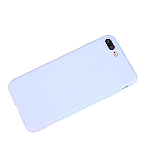 Color Ultra Thin Frosted Matte Original Soft Silicone Candy Case for iPhone,Purple,for iPhone 7 Plus (Ipod Case Drake)