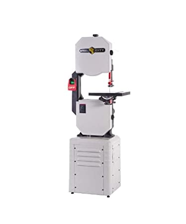 table band saw. steel city tool works 50125 14-inch band saw with granite work table