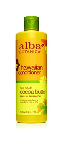 Alba Botanica Conditioner (Alba Botanica Hawaiian, Cocoa Butter Conditioner, 12 Ounce)