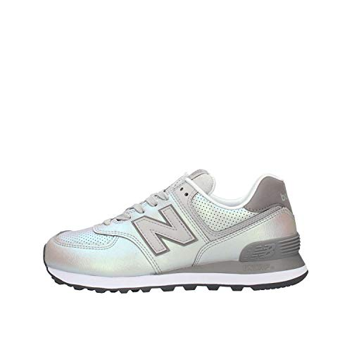 Women's Balance New Trainers Silver 574v2 fYXYvqPz