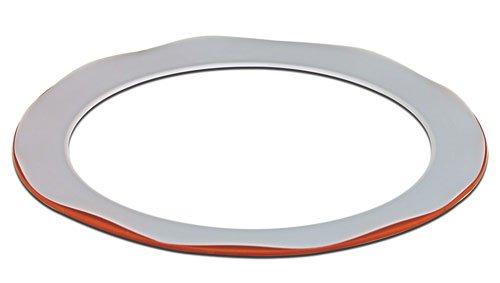 CHEMGLA - Teflon Envelope Gasket For 300mm Schott Flange-11 -5/8'' ID X 15'' OD- 1/8'' Silicone Core, (Schott Die)