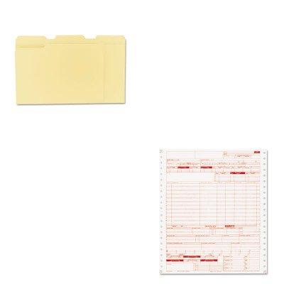 KITPRB05110UNV12113 - Value Kit - Paris Business Products UB04 Claim Forms (PRB05110) and Universal File Folders (UNV12113)