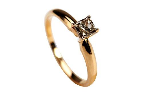 0.47 Ct Princess Diamond - 4