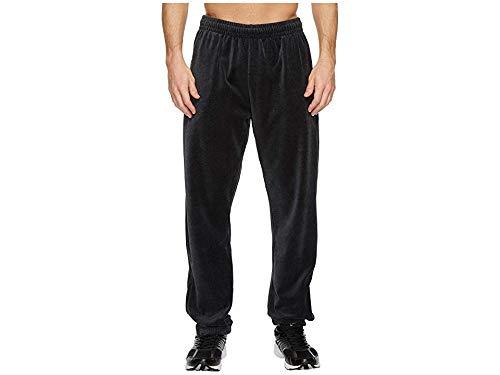 (Fila Men's Velour Pants Black Heather Small 31)