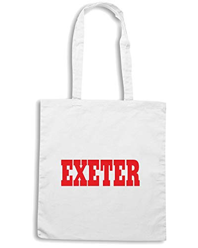 Speed Shirt Borsa Shopper Bianca WC0724 EXETER