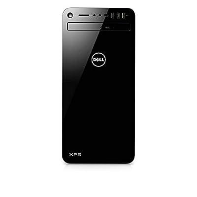 Dell XPS 8930 Tower Desktop - 8th Gen. Intel Core i7-8700 6-Core up to 4.60 GHz, 32GB DDR4 Memory, 256GB SSD + 6TB SATA Hard Drive, 4GB Nvidia GeForce GTX 1050Ti, DVD Burner, Windows 10, Black