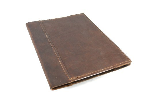Journal Cover (Leather Composition Notebook Cover with College Ruled Insert 9 ¾