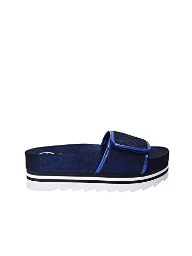 Women Guess Blue FLHLI2 Sandals FAM19 ttrg6AqH