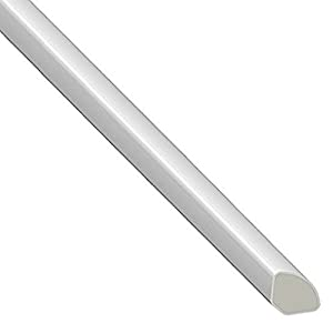 Window and door architrave plastic trim quadrant 12mm 5 for Window quadrant