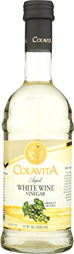 - Colavita Aged White Wine Vinegar, Glass Bottle, 500 ml