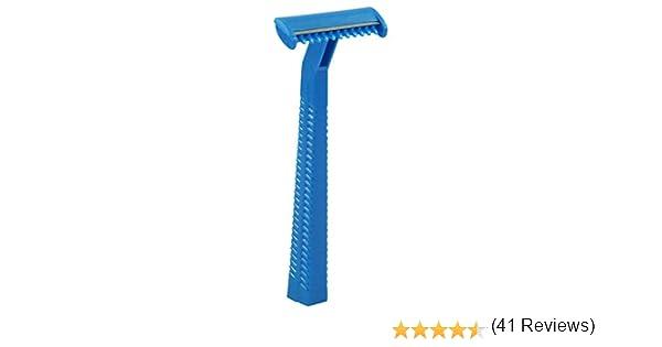Afeitadora desechable Med-Comfort, 100 piezas, 1 o 2 cuchillas ...