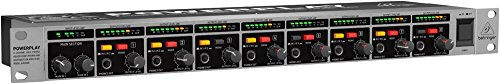 BEHRINGER power-amplifiers, Silver & Black (HA8000V2)