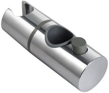 prix modéré 2019 professionnel Super remise Support de douche à main 360 ° Support de tête de douche réglable pour  diamètre 28MM Rail de rail ABS Barre de fixation à glissière Chrome plaqué