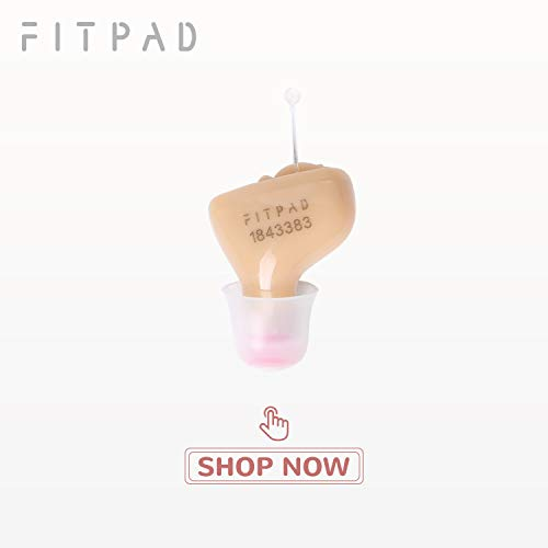 FITPAD Hearing Amplifier Mini Size Comfortable Hearing Battery Size A10 (Right)