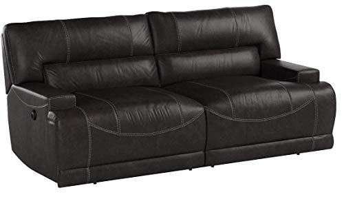 Signature Design by Ashley McCaskill Power Reclining Sofa, Gray