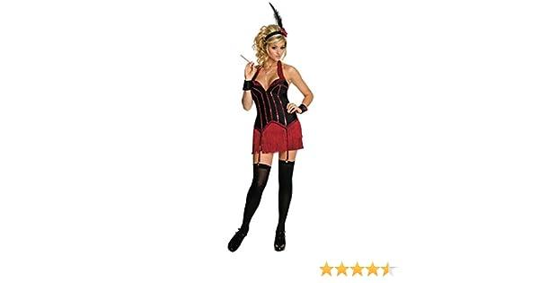 Disfraz de cabaretera Playboy para mujer: Amazon.es: Juguetes y juegos