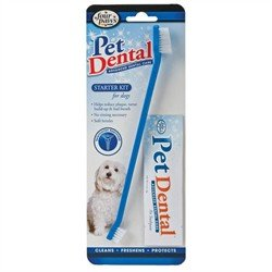 Four Paws Pet Dental Starter Kit for Dogs_DX ()
