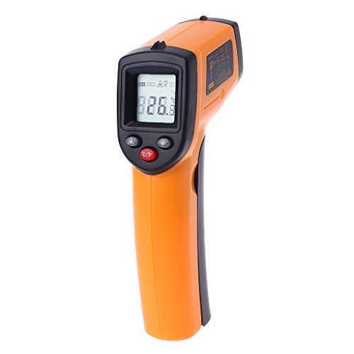 mgjyjy Thermometer, 2019 New Digital Infrared Thermometer LCD Non-Contact IR Laser Temperature Point Gun with Backlight ()