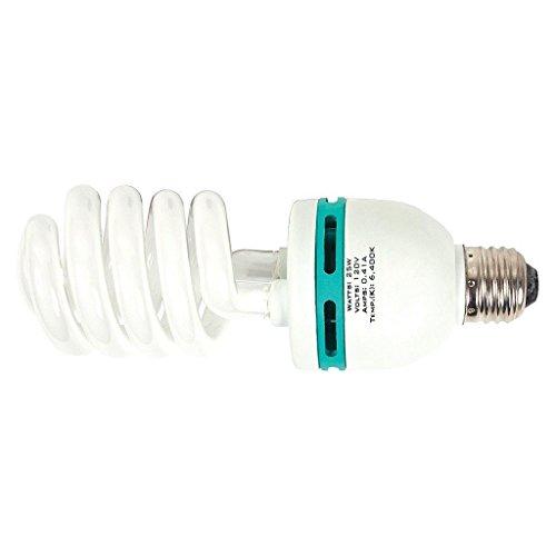 25 Watt 6400k Compact Fluorescent Lamp Bulb CFL Lamp Grow Light -