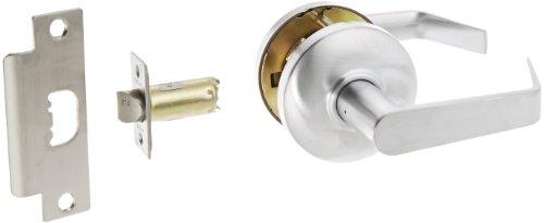 (Hager 3500 Series Heavy Gauge Steel/Zinc Grade 2 Cylindrical Passage Lock, 2-3/4