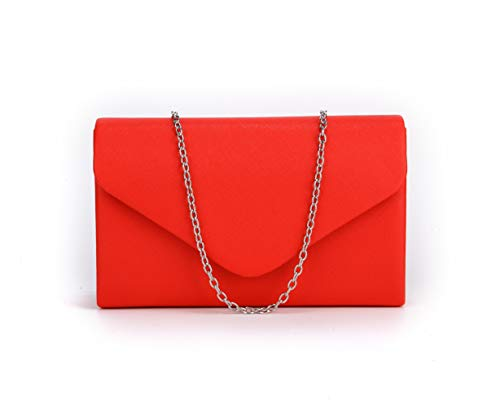 Nodykka Crossbody Bags for Women Evening Bridal Clutch Purses PU Leather Shoulder Handbags ()