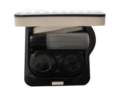 OPTISAFE ~ Piano lentilles de contact cas compagnon ~ A-907 (BLANC)