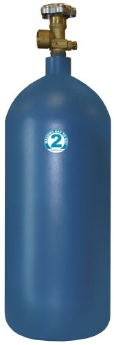 (Thoroughbred Empty Argon/CO2 Welding Gas Cylinder - #2, Model#)
