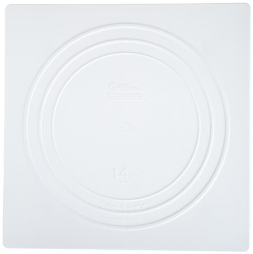 Wilton 302-1805 Decorator Preferred Square Separator Plate for Cakes, (14 Cake Plate)