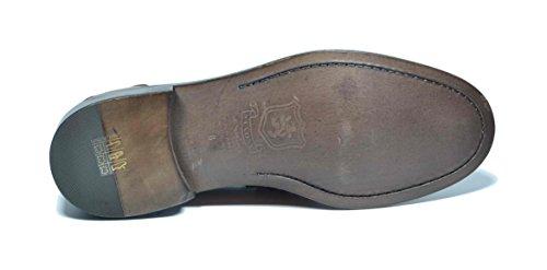 Saxone of Scotland - Mocasines de Piel para hombre marrón cuero