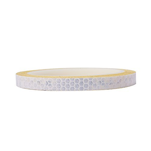 Coche Pegatina de advertencia cinta Conspicuity tira DIY calcomanía rollo de película de seguridad reflectante para Coche...